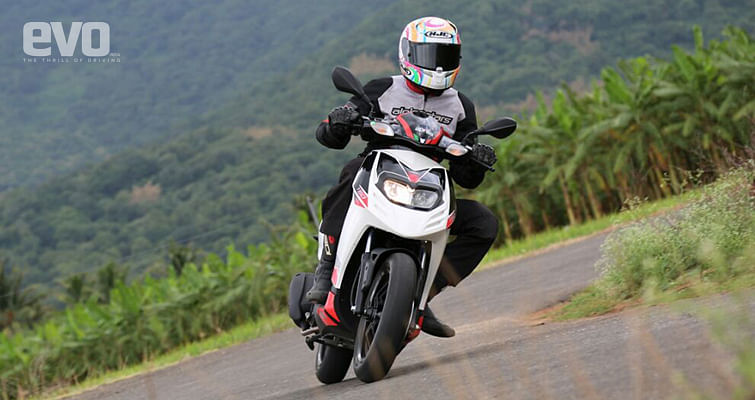Aprilia SR150 review