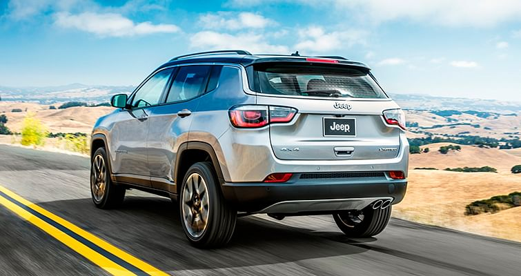Jeep Compass unveiled in Brazil