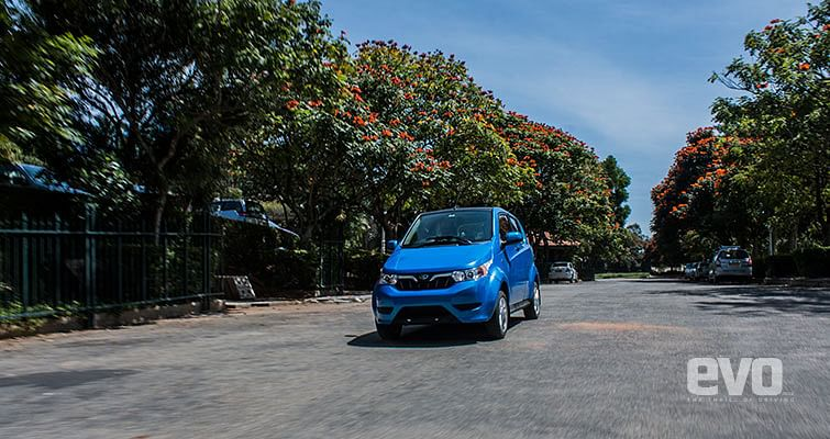 The Mahindra e2o Plus is the only all electric hatchback in the current market