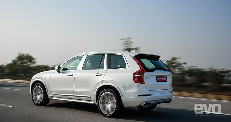 Volvo XC90 T8: We drive India's first plug-in hybrid SUV