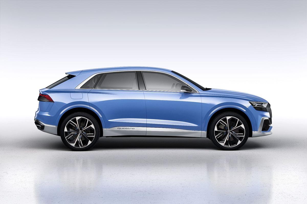 Audi unveils production ready Q8 concept