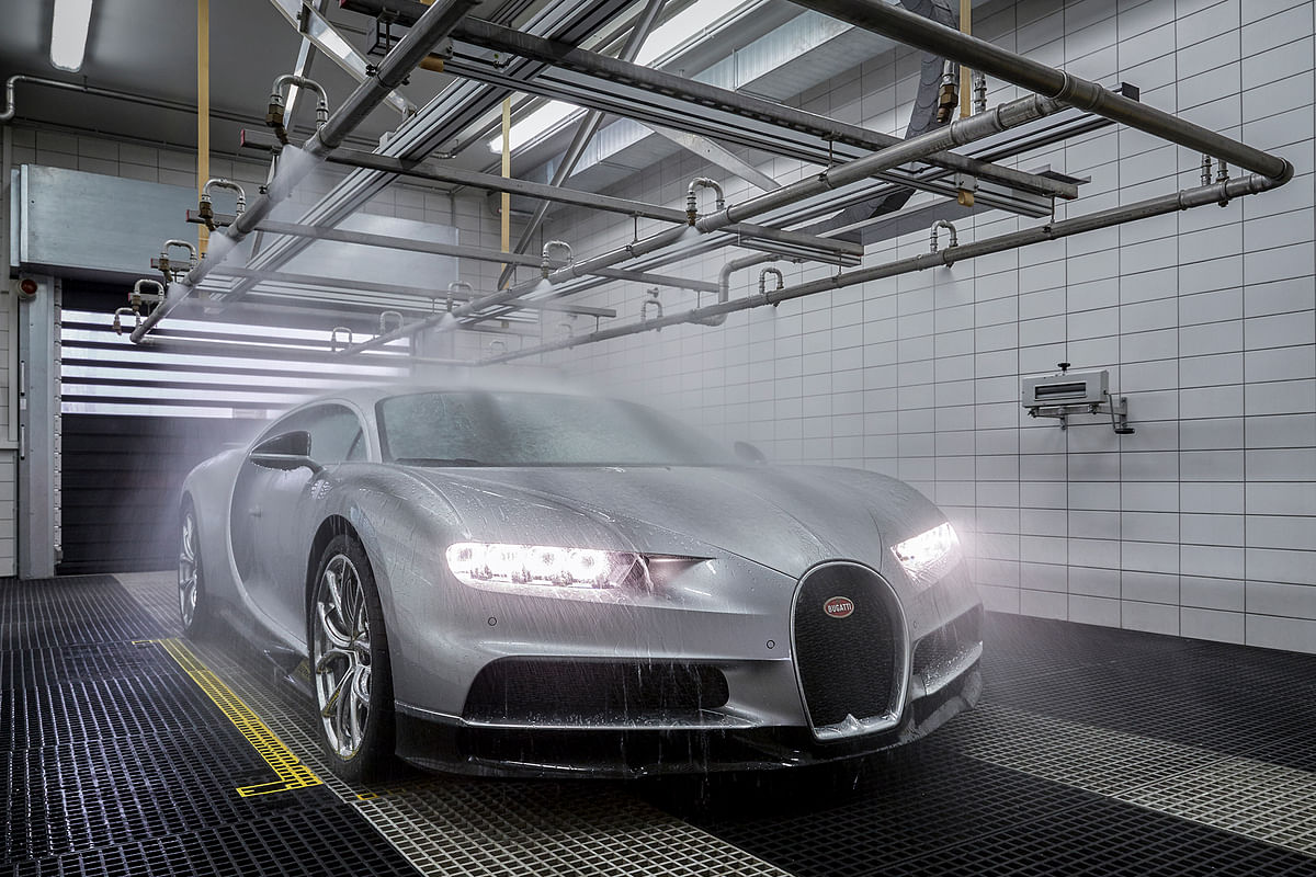 Here's how the fastest car in the world is made