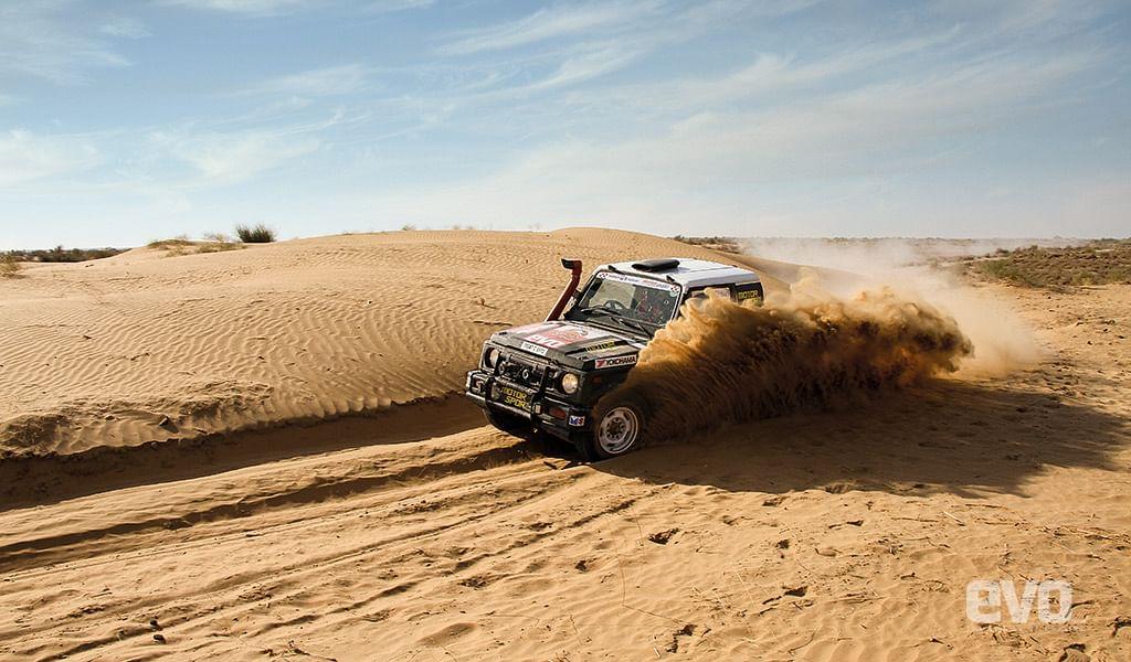 Team evo India's 2017 Maruti Suzuki Desert Storm experience