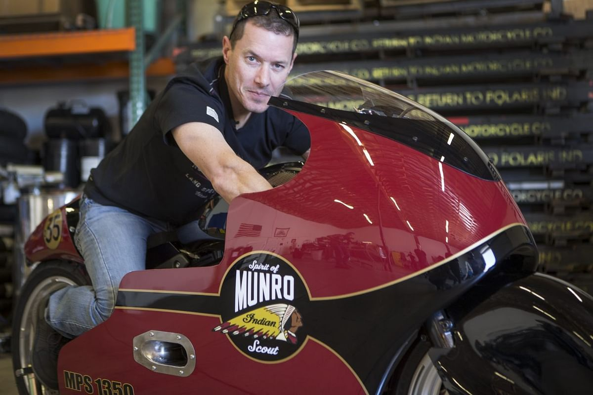 Munro's great nephew to recreate 'The World's Fastest Indian' story