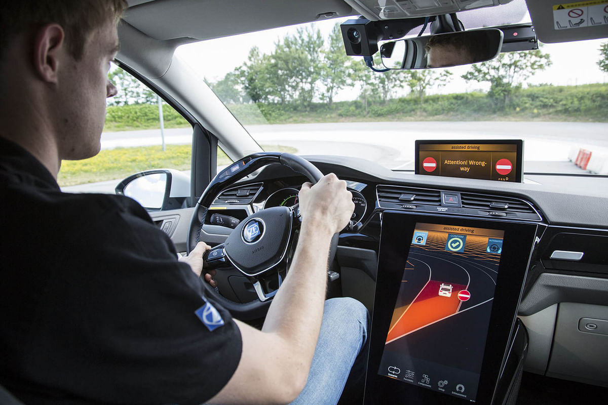 ZF has developed a feature that will not let you drive in to a wrong lane