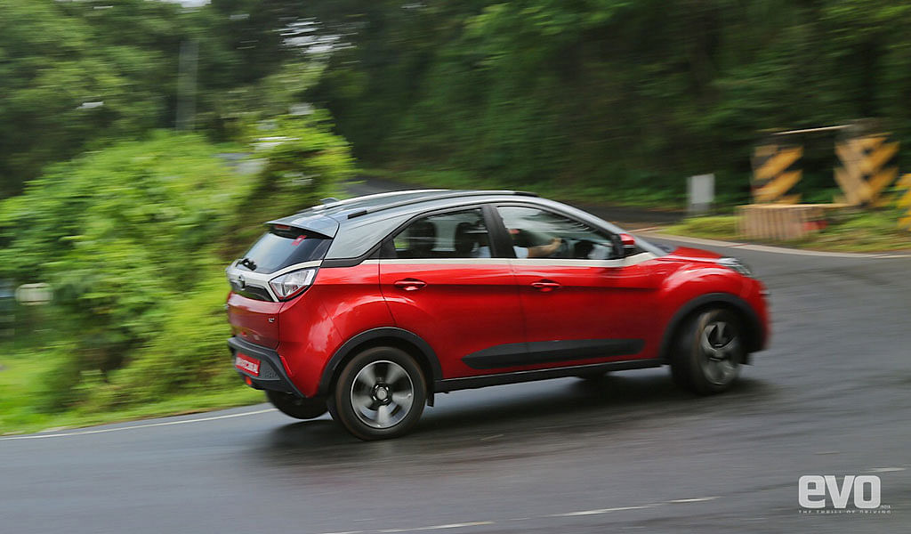 Tata Nexon driven