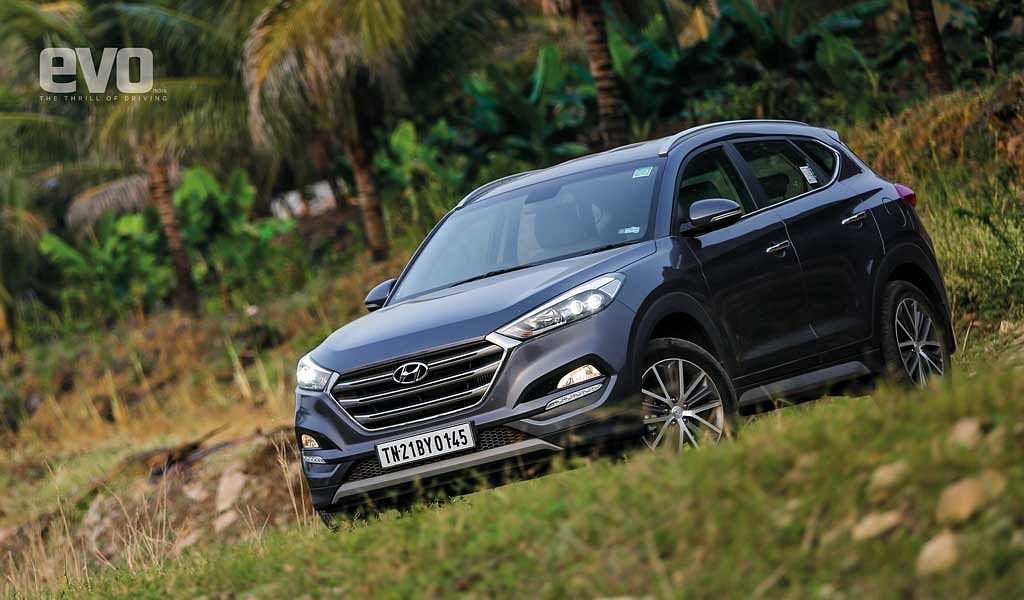 Hyundai Tucson – evo fleet