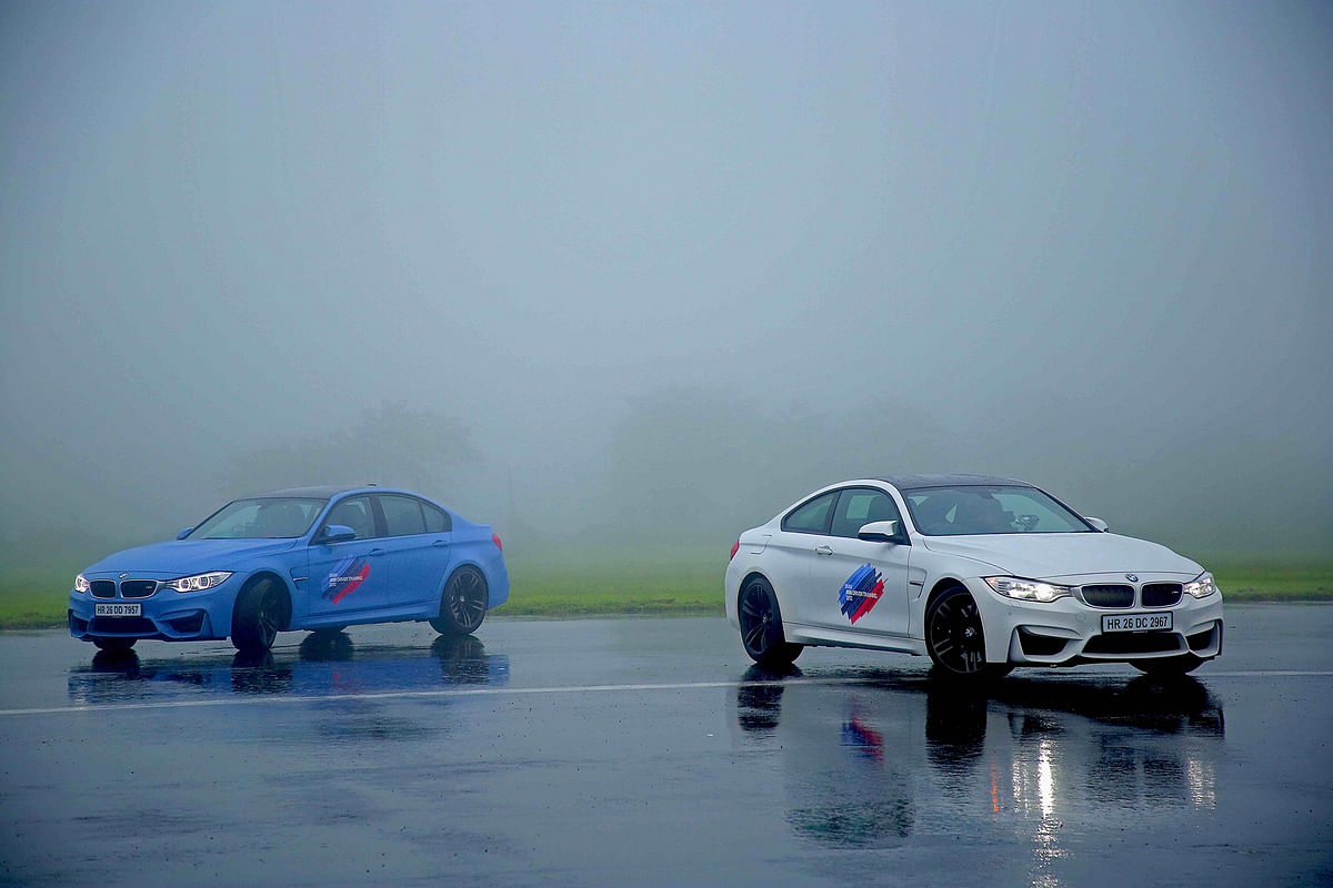 BMW hosted the M Performance training program in Aamby Valley, Pune