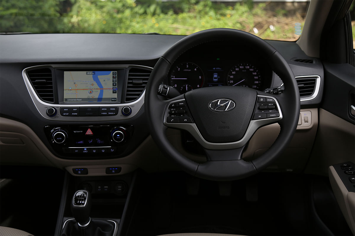 Hyundai Verna driven