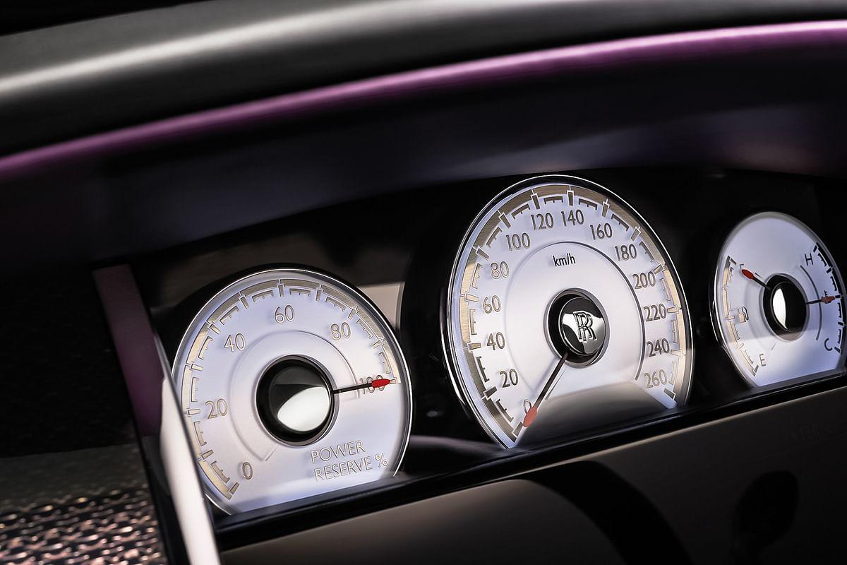 Rolls-Royce Wraith Black Badge driven