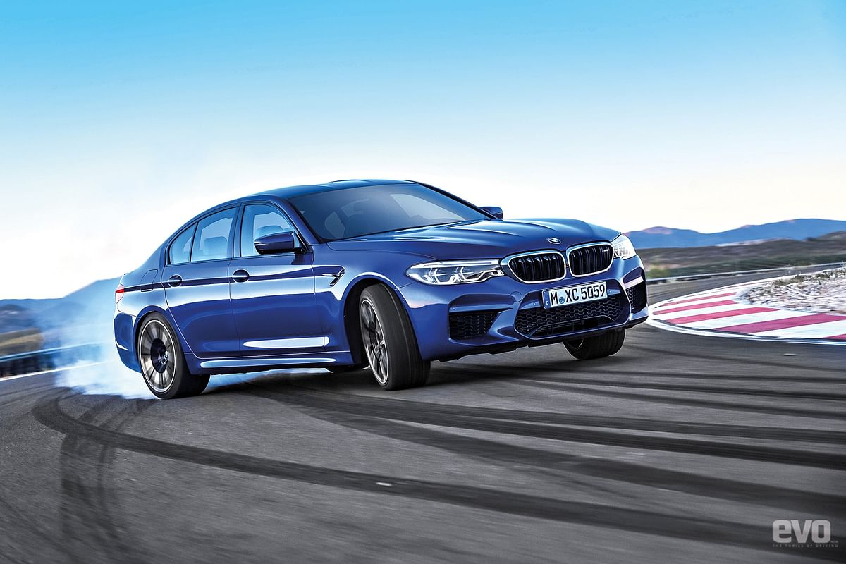 The new BMW M5 Reviewed