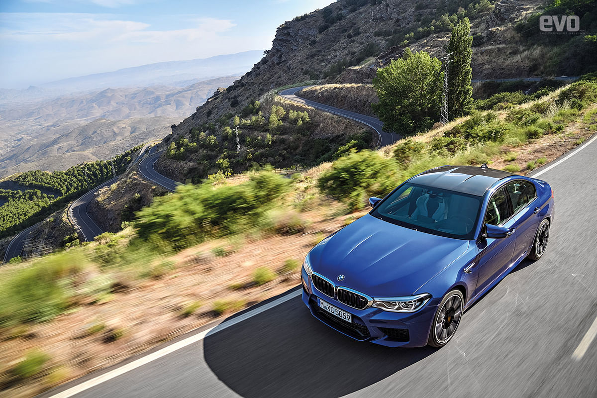 BMW unveils the new M5, the fastest M car yet