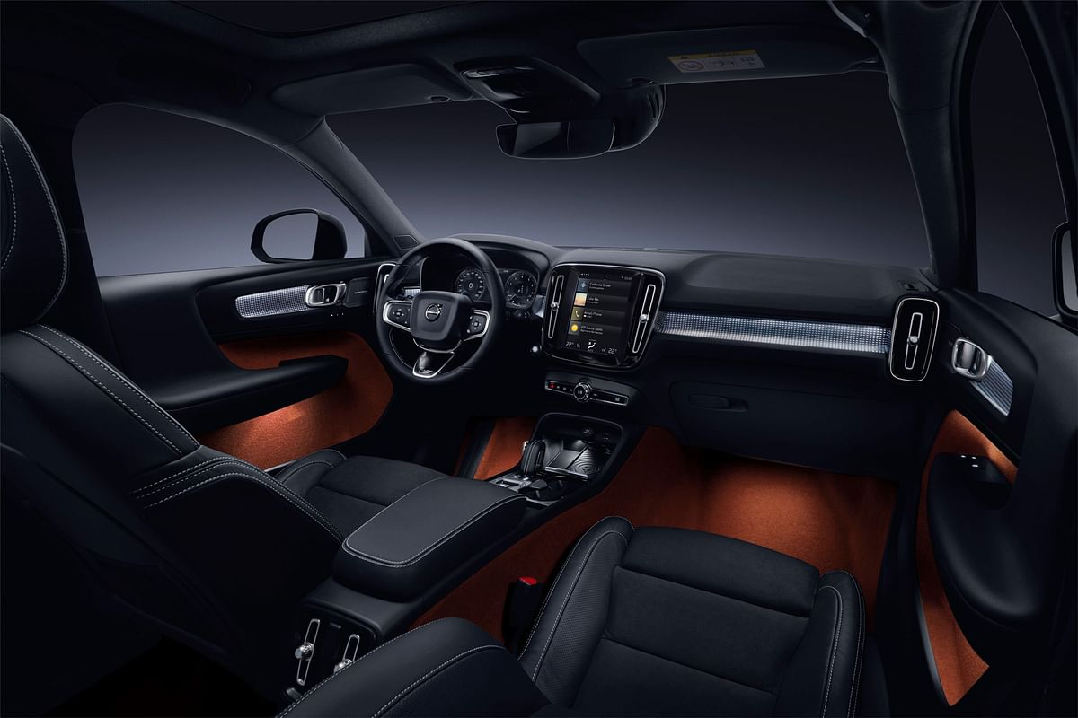 Volvo XC40 subcompact SUV unveiled