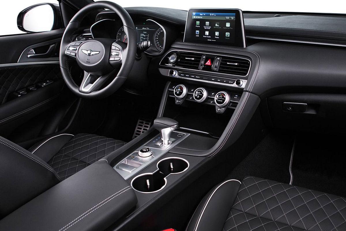Hyundai Genesis G70 unveiled