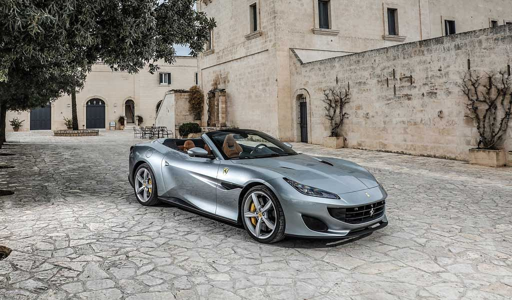 Ferrari launches its California replacement, the Portofino at the Frankfurt motor show