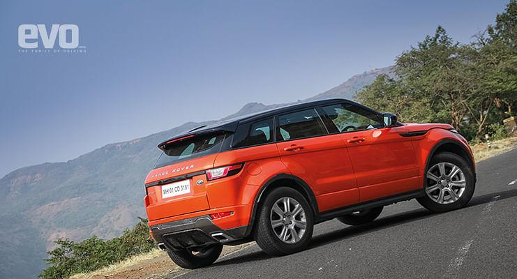 End of term – Range Rover Evoque – evo fleet