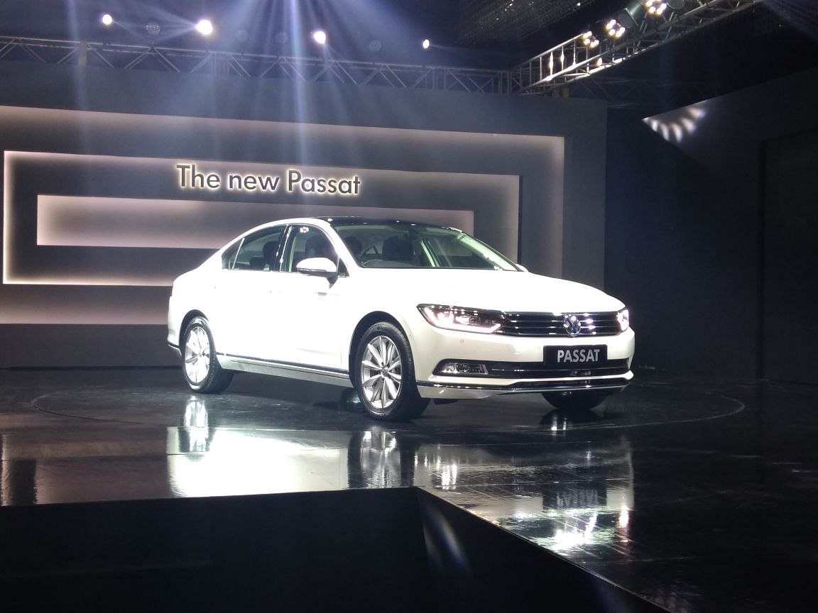 Volkswagen launches a new Passat