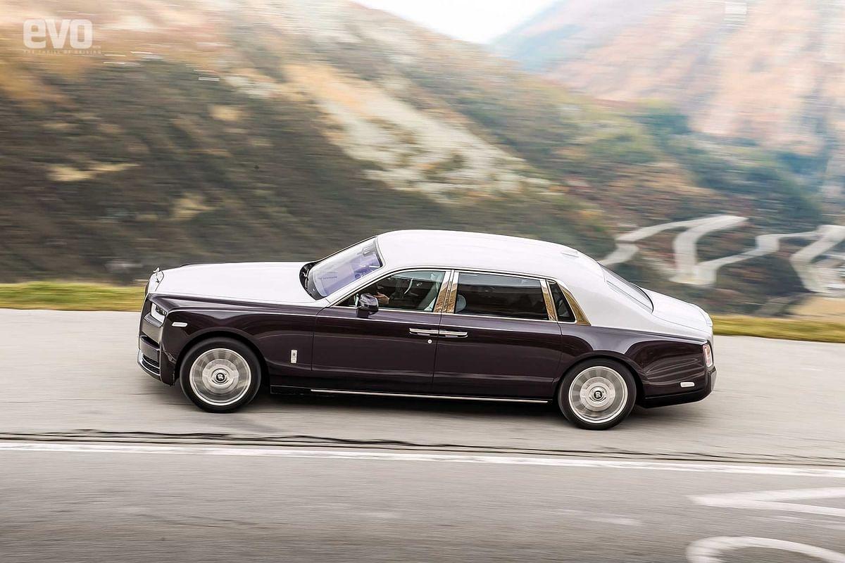 Rolls Royce Phantom VIII: Driven