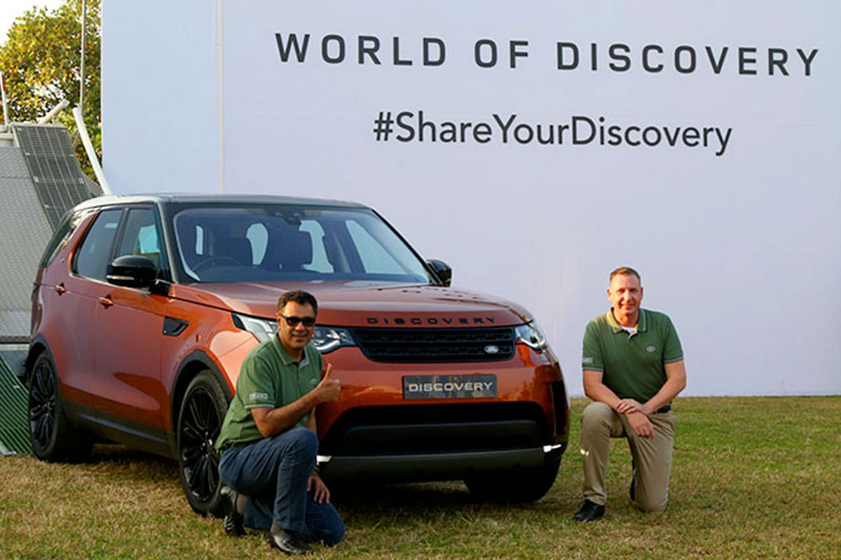Fifth generation Discovery launched, starting at Rs. 71.38 lakh