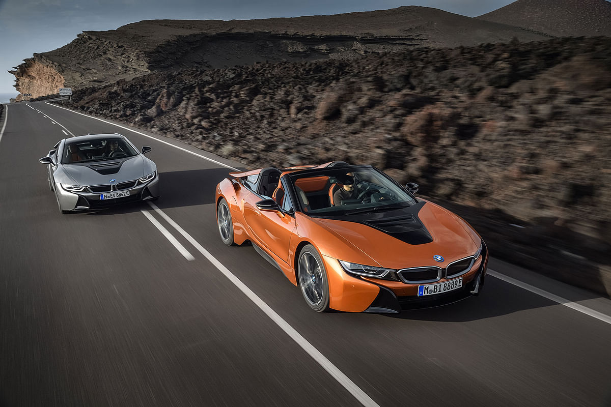 BMW i8 goes topless
