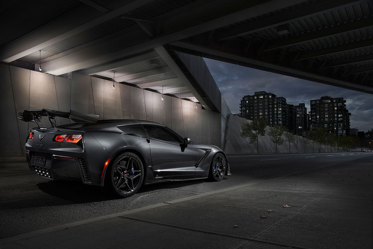 Chevrolet unveils the 2019 Corvette ZR1