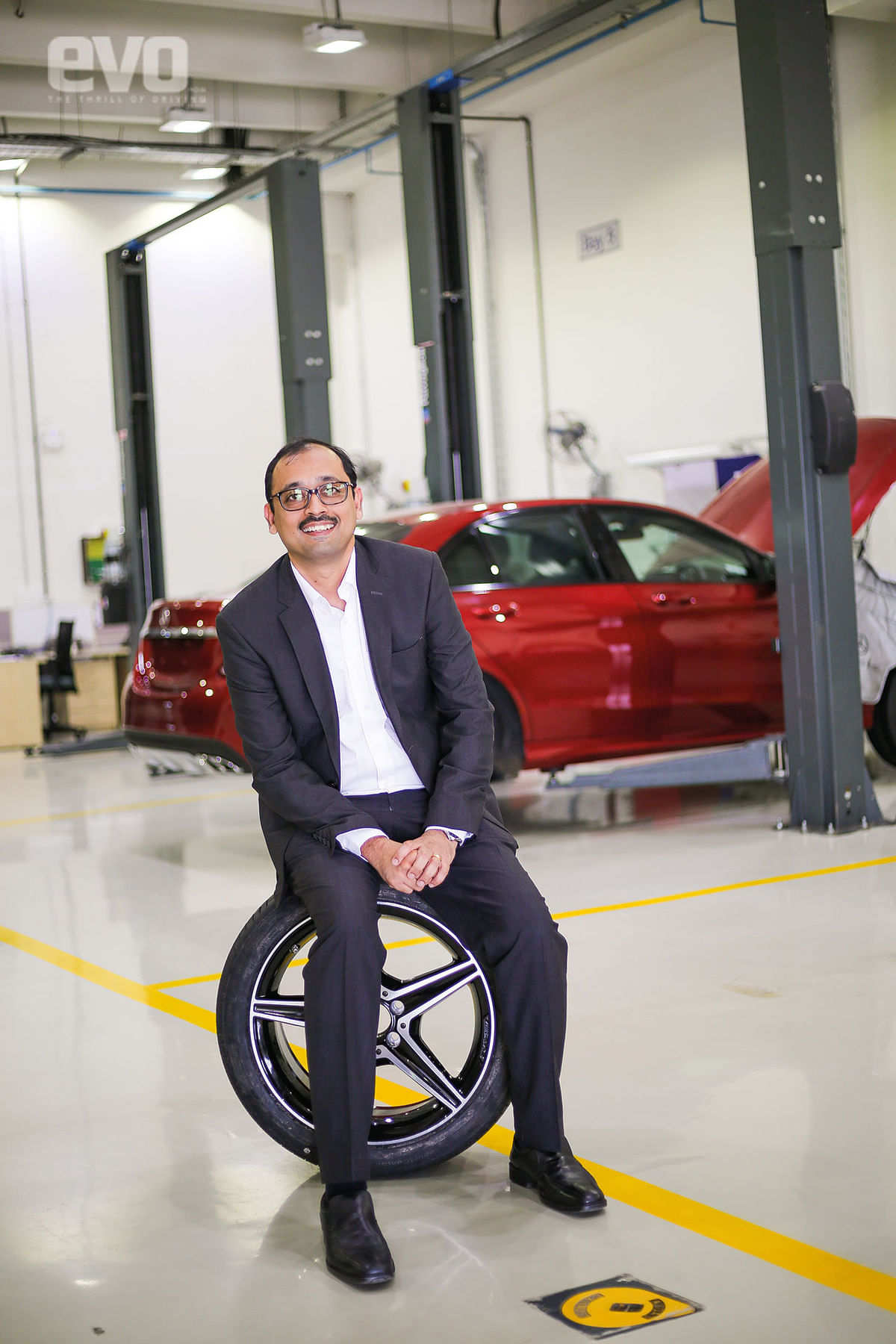 Director of Mercedes-Benz India aftersales, Santosh Iyer