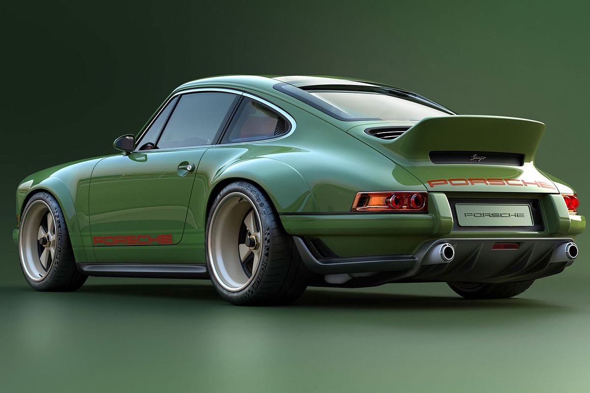 Singer develops another Porsche 964 in collaboration with Williams Advanced Racing