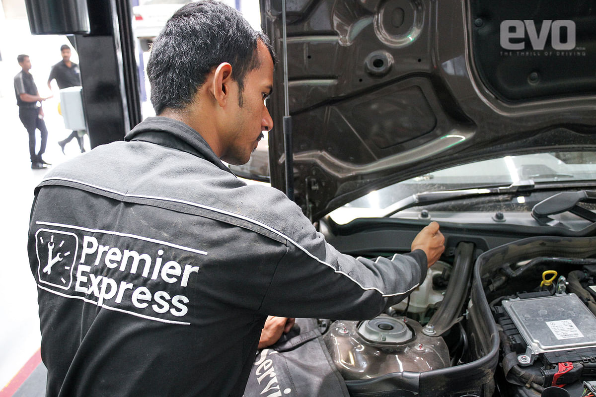 Premier Express aims to turn around regular servicing in two hours
