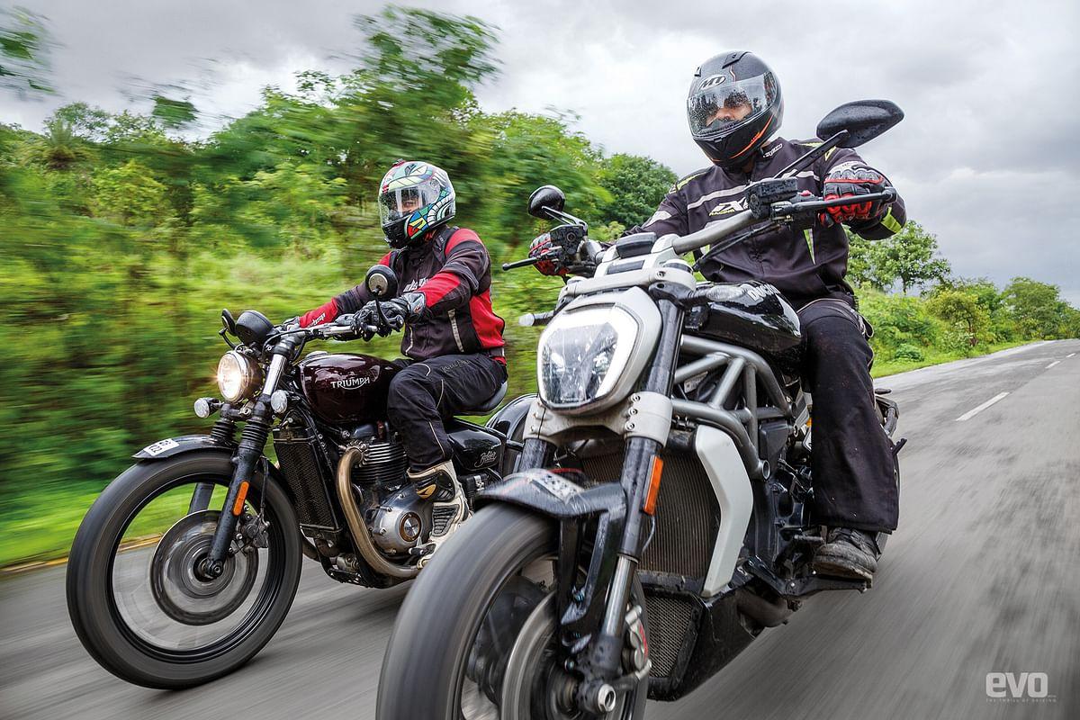 Cruiser shootout: Ducati XDiavel S v Harley-Davidson Roadster v Triumph Bonneville Bobber