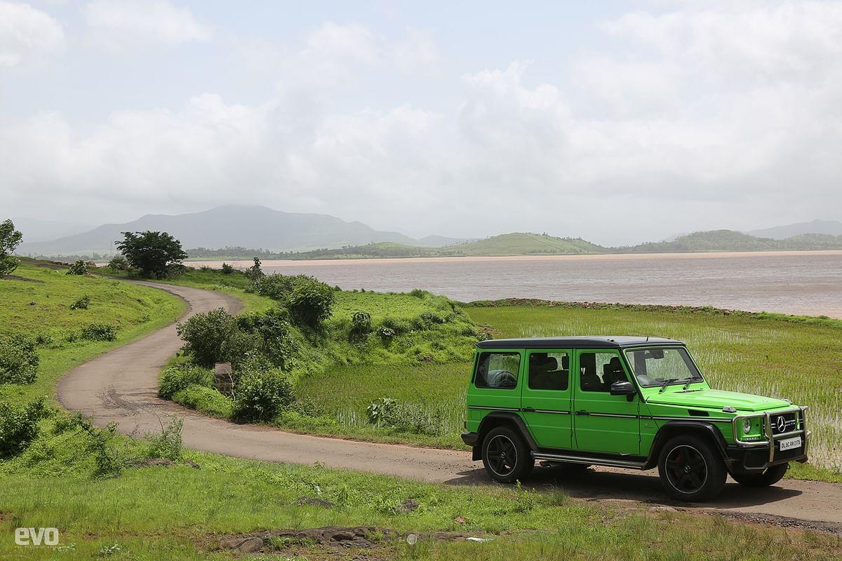 AMG hill climb: Drive to Bhor Ghat in a Mercedes-AMG G 63