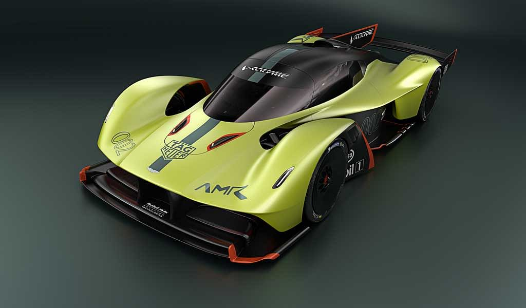 Aston Martin teases track-only Valkyrie AMR Pro