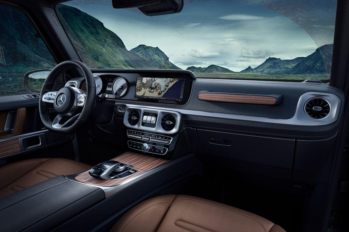 The Mercedes-Benz G-Class gets fresh interiors