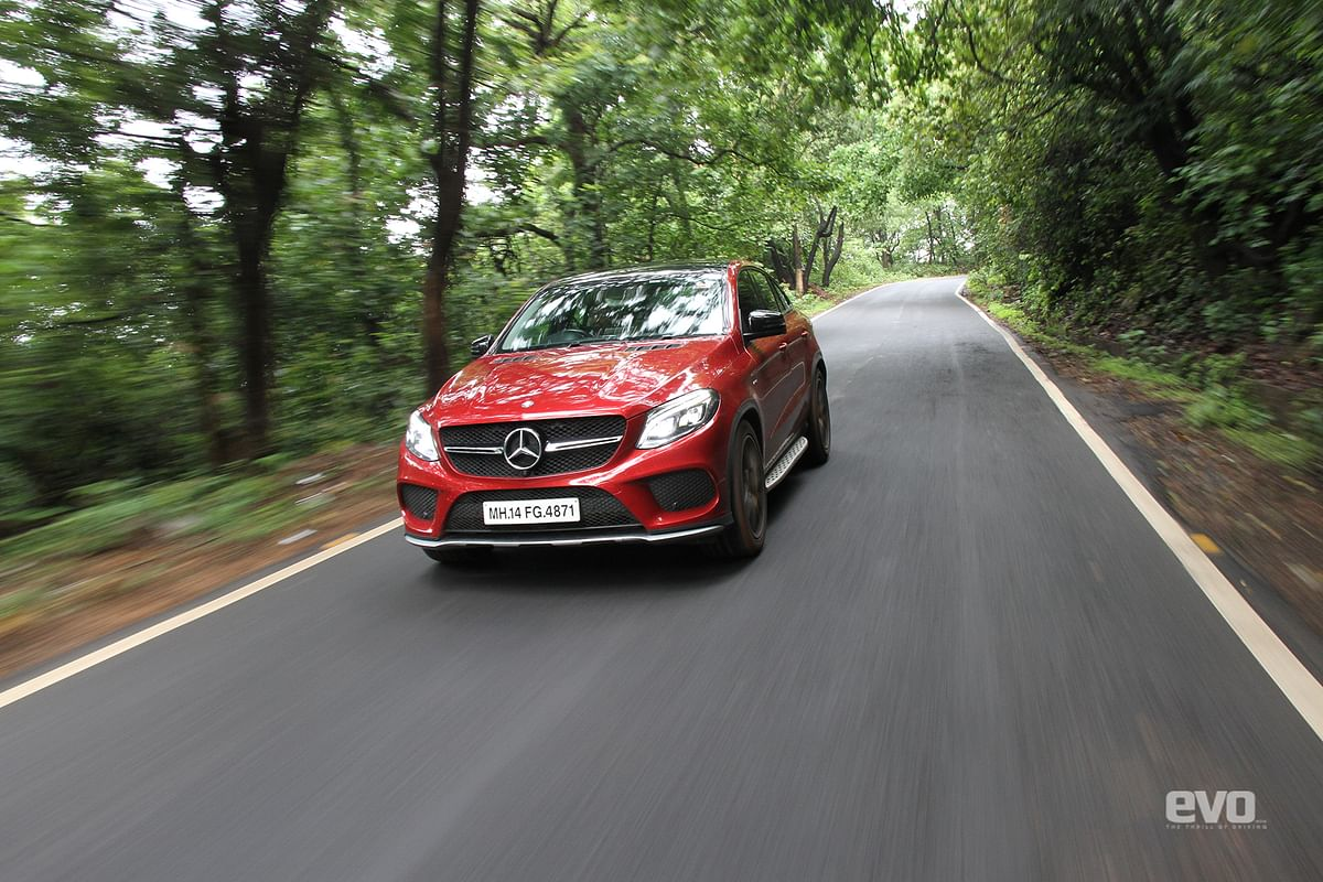 AWD and fat rubber give immense traction in bends