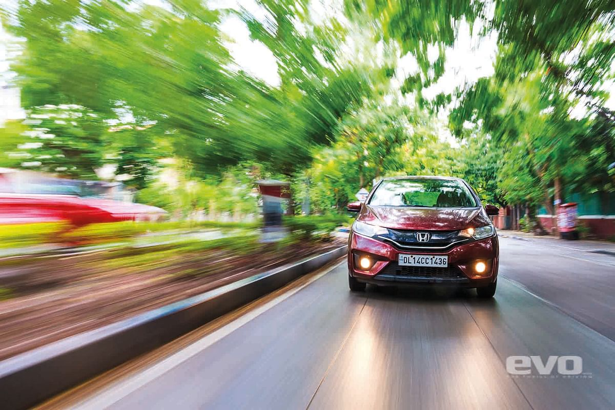 With its smooth and punchy but frugal petrol engine, the Jazz is a perfect city car