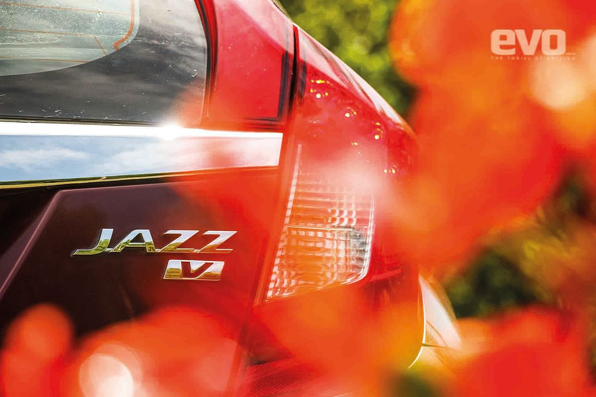 The Jazz's styling is modern and funky, in sync with what Sandra and her friends want in their cars