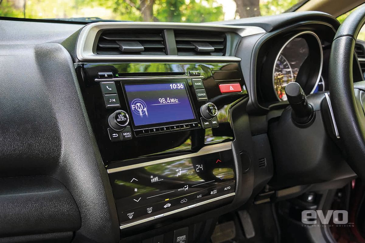 The infotainment system has Bluetooth connectivity and steering mounted controls
