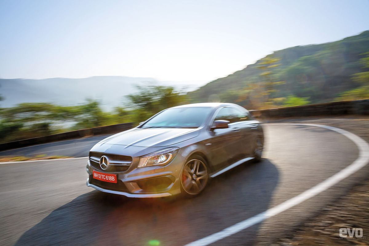 AMG Hill Climb: Driving the Mercedes-AMG CLA 45 to Lavasa