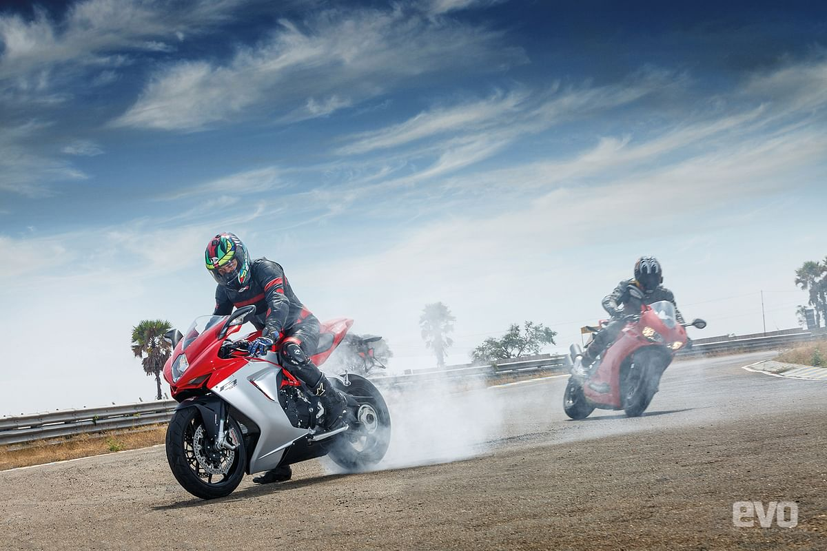 Chalk, cheese and soul curry: Ducati 959 Panigale vs MV Agusta F3 800