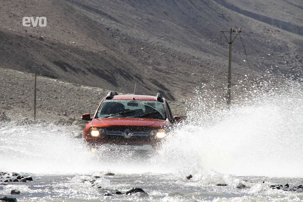 Getting High with the Duster: Driving to the highest saline lake in the world