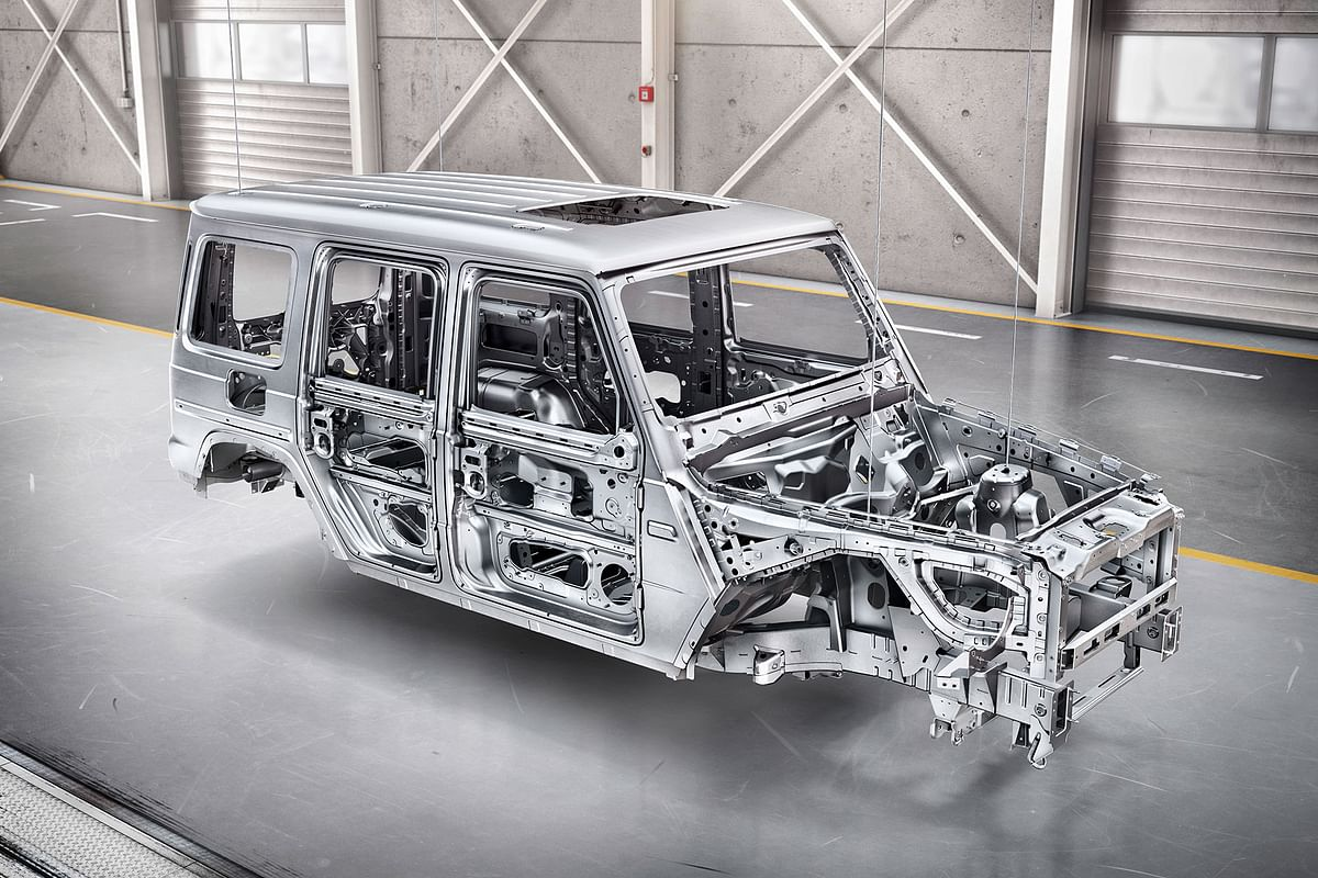 2019 Mercedes-Benz G-Class unveiled