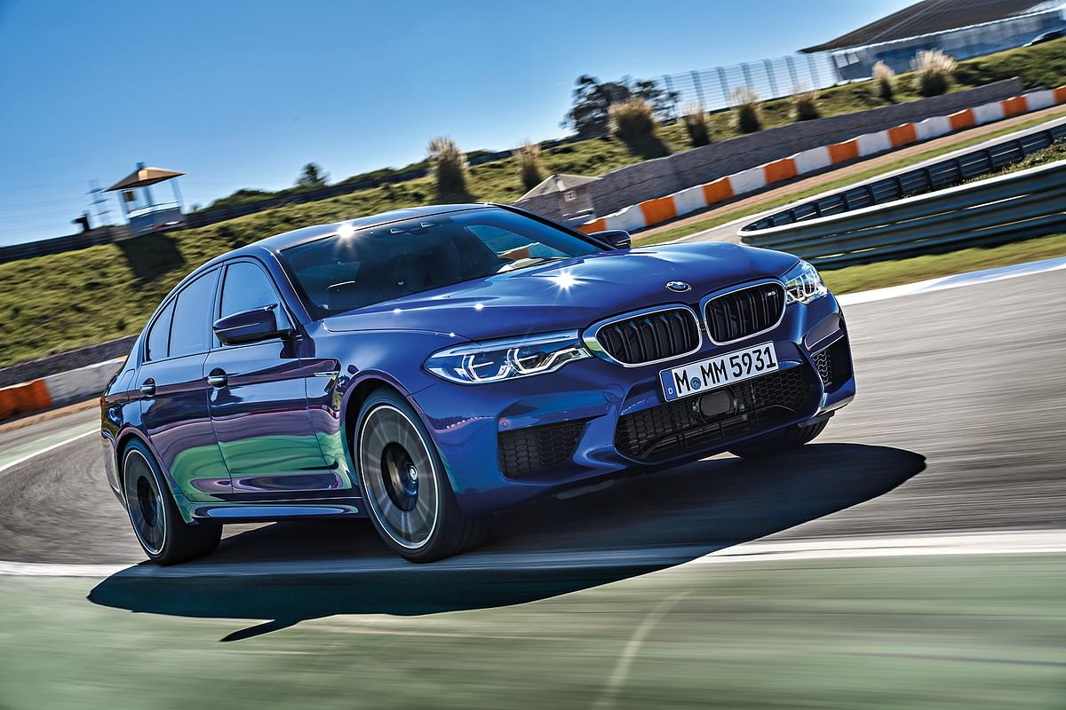 First question: Has four-wheel drive ruined the M5? First answer: No!