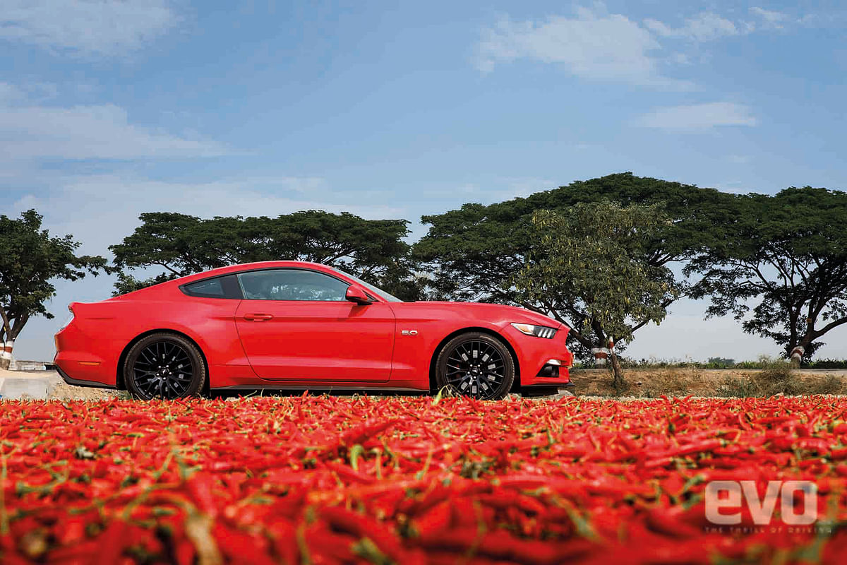 Off the Scoville scale in a Ford Mustang GT, American Muscle at its best