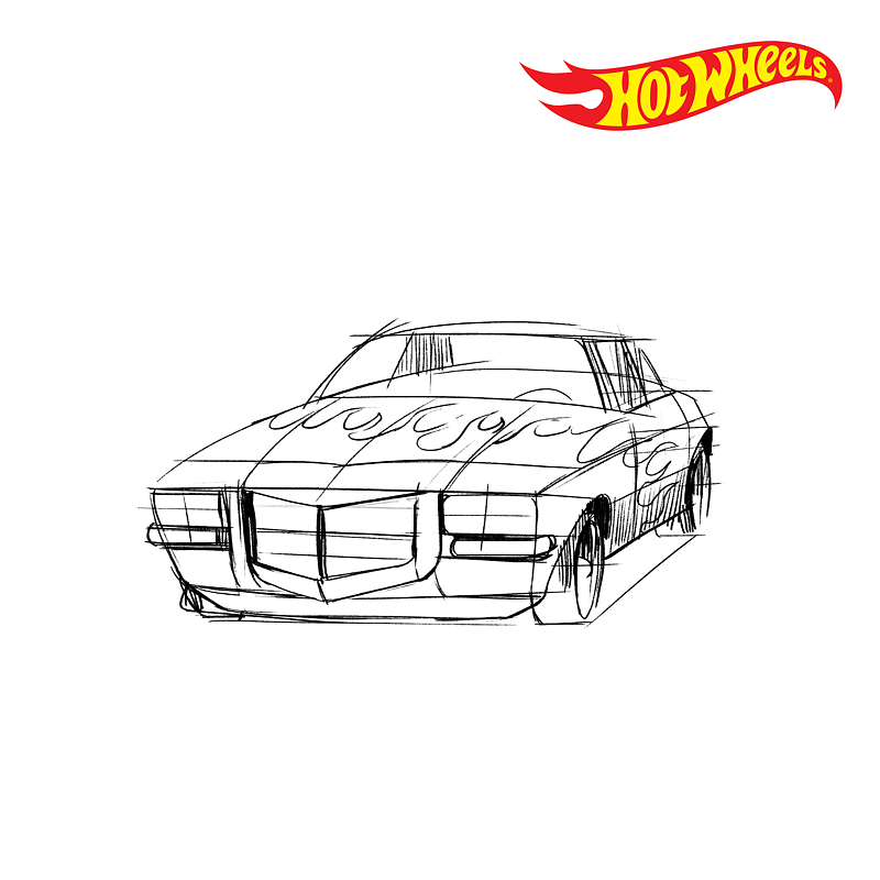 Hot Wheels unveils sketches of new toy models