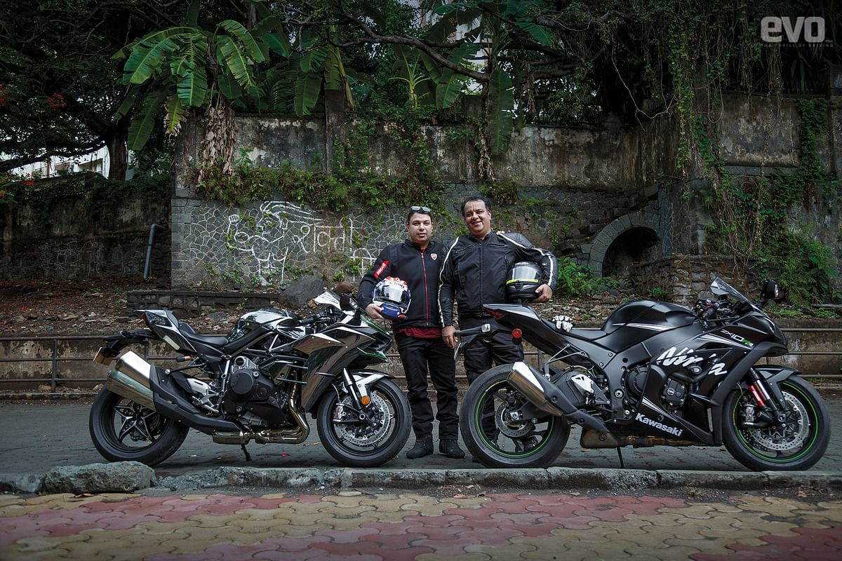 Fast friends: Vicky Jaising and Cyres Mehta discuss their daily riders