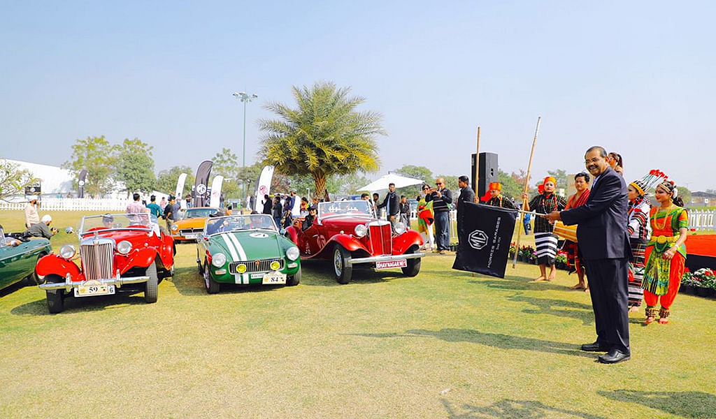 MG Motor India conducts its first meet and drive in the NCR