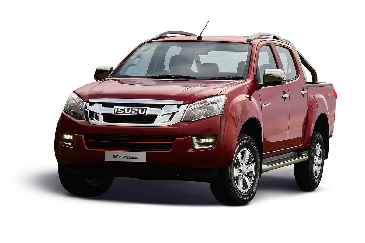 Isuzu launches 2018 edition of D-Max V-Cross