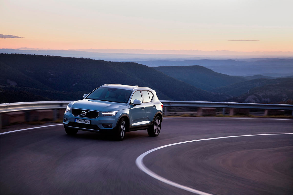 Compact and Swedish: Volvo XC40 review