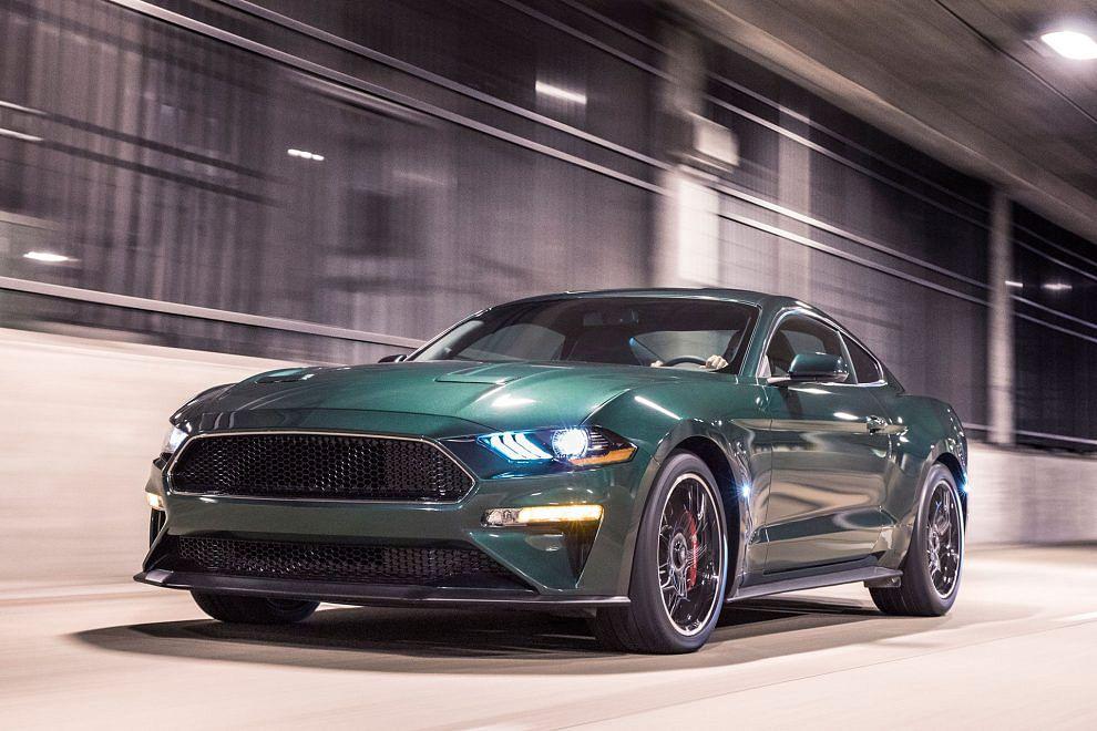 2019 Ford Mustang Bullitt breaks cover