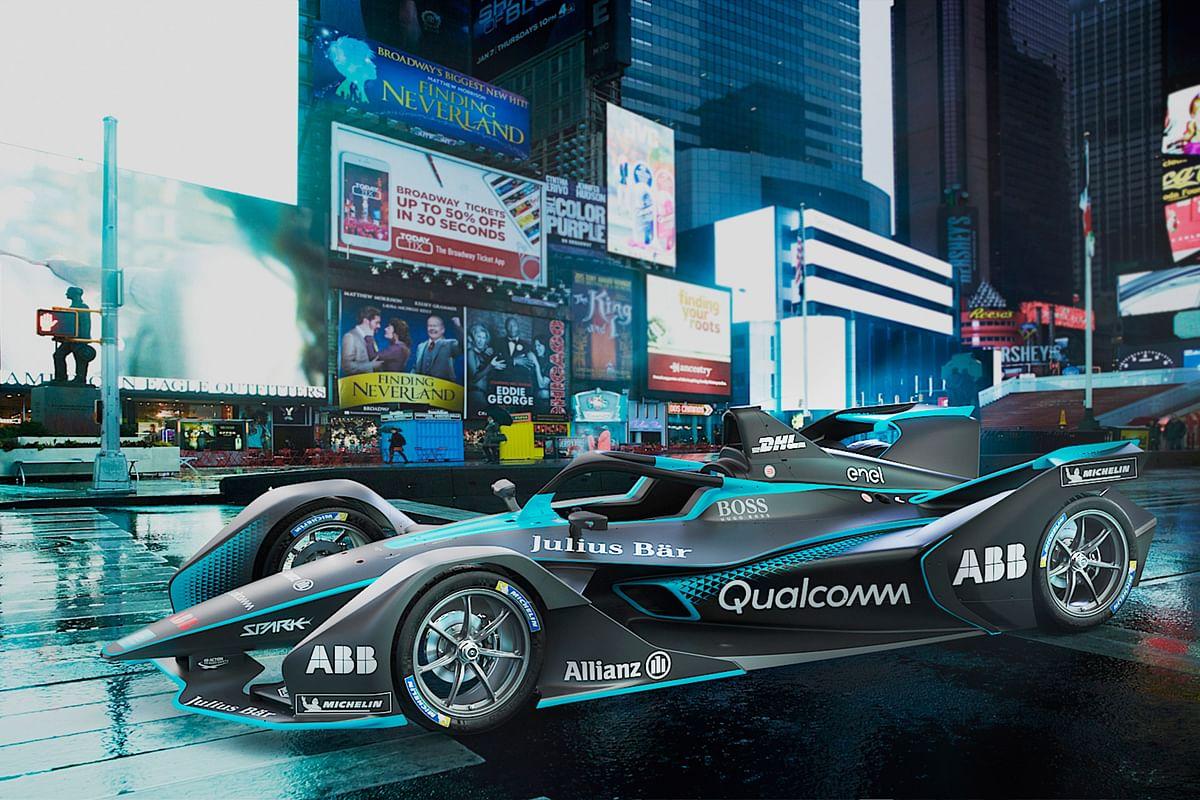 A first look at the Gen 2 Formula E car