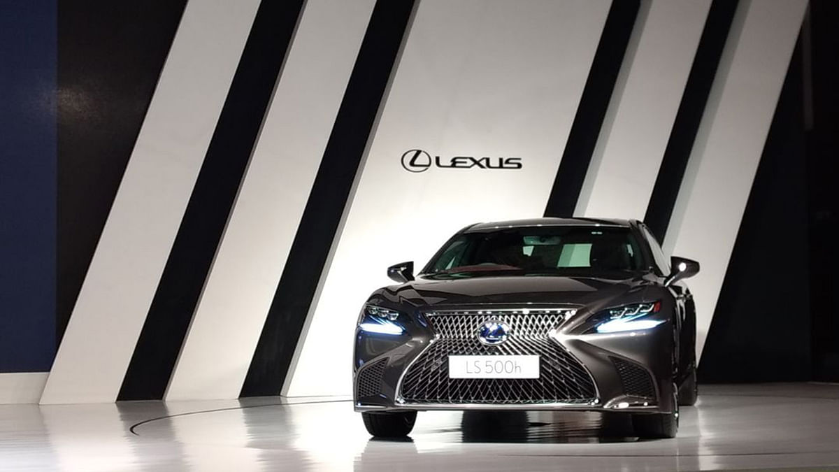 Lexus LS 500h launched at Rs 1.77crore (ex-showroom)